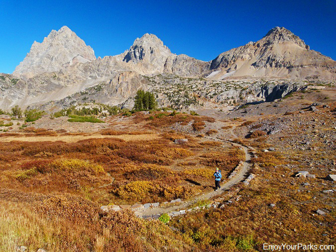 Hurricane Pass Trail, Grand Teton National Park