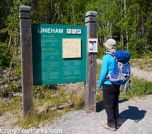 Lineham Falls Trail, Waterton Lakes National Park