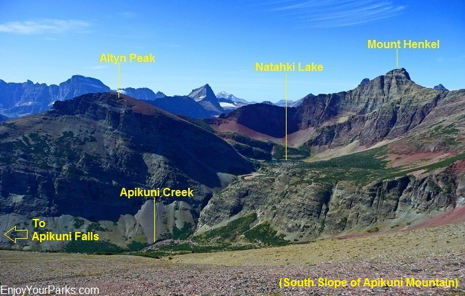Apikuni Creek Basin, Glacier National Park