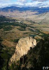 Mammoth Hot Springs Area, Yellowstone National Park