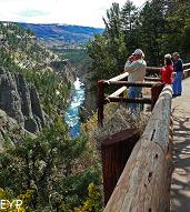 Calcite Springs Overlook, Tower / Roosevelt Area, Yellowstone National Park