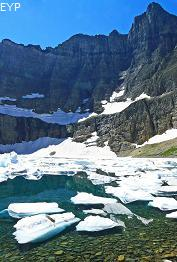 Iceberg Lake, Many Glacier Area, Glacier National Park