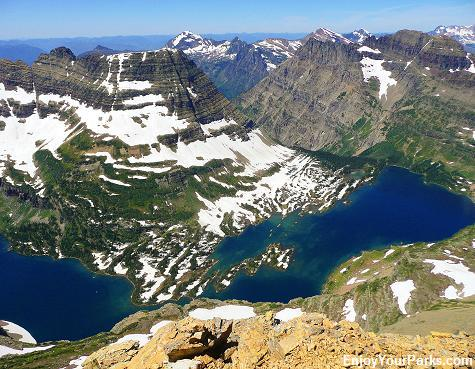 Reynolds Mountain Summit, Hidden Lake Overlook, Glacier National Park