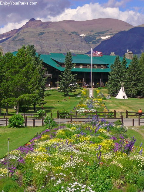 Glacier Park Lodge, East Glacier Montana, Glacier National Park
