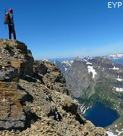 Summit of Reynolds Mountain, Glacier National Park
