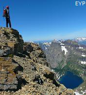 Summit of Reynolds Mountain, Glacier National Park Montana