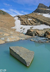 Upper Grinnell Lake, Grinnell Glacier Trail, Glacier National Park