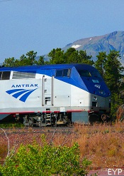 Amtrak, Glacier Park Lodge, East Glacier Montana, Glacier National Park
