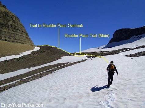 Boulder Pass Trail, Glacier National Park