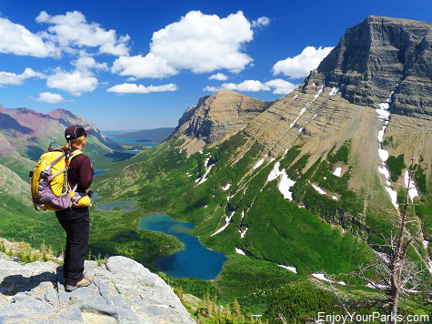 Swiftcurrent Pass Trail, Many Glacier Area, Glacier National Park