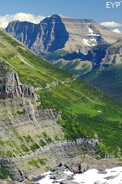 Mount Cleveland, Boulder Pass Trail, Glacier National Park