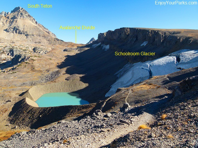 Schoolroom Glacier, Hurricane Pass, Grand Teton National Park