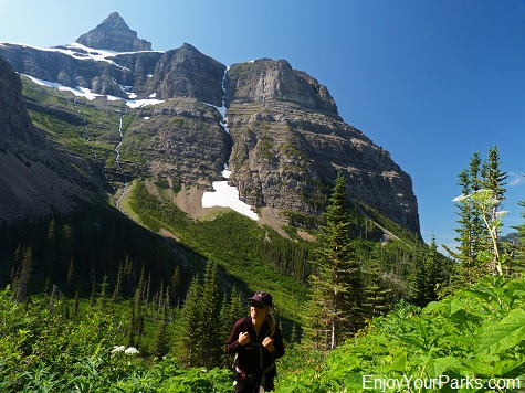 Thunderbird Mountain, Hike to Brown Pass, Glacier National Park