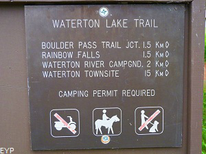 Waterton Lake Trail, Glacier Park