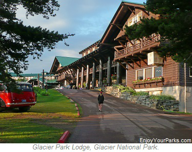 Glacier Park Lodge, Glacier Park Lodging, Glacier National Park
