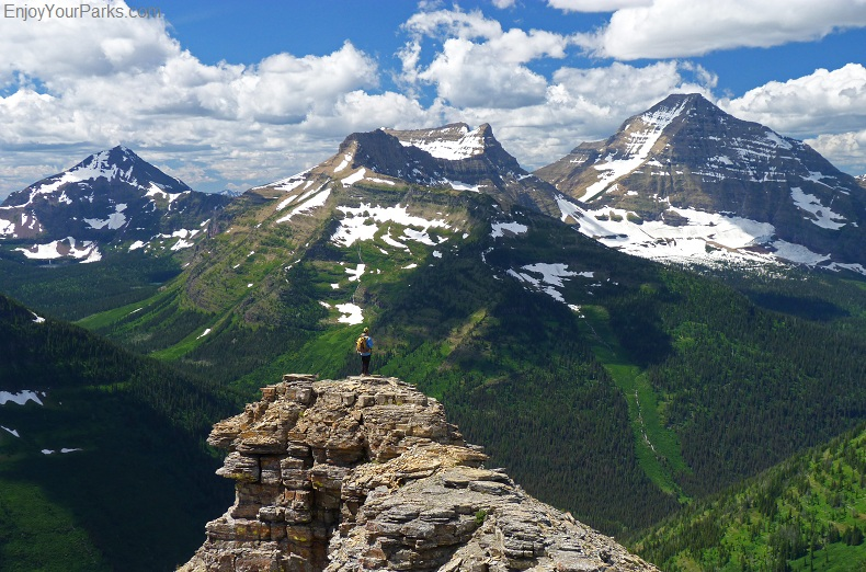 Pitamakan Overlook, Dawson Pass Trail - Pitamakan Pass Trail Loop, Glacier National Park