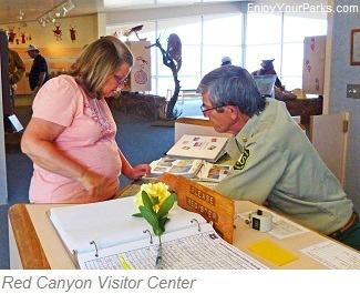 Red Canyon Visitor Center, Flaming Gorge National Recreation Area