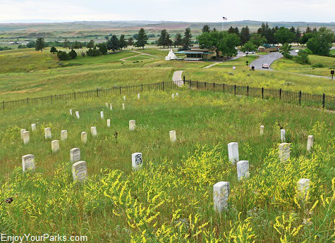 Last Stand Hill, Little Bighorn Battlefield National Monument Montana
