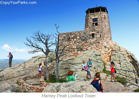 Harney Peak Lookout Tower, South Dakota