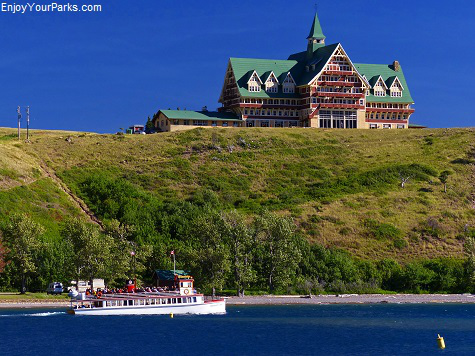 Prince of Wales Hotel, Waterton Park Townsite, Waterton Lakes National Park