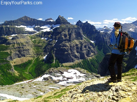 Boulder Pass Overlook, Glacier National Park