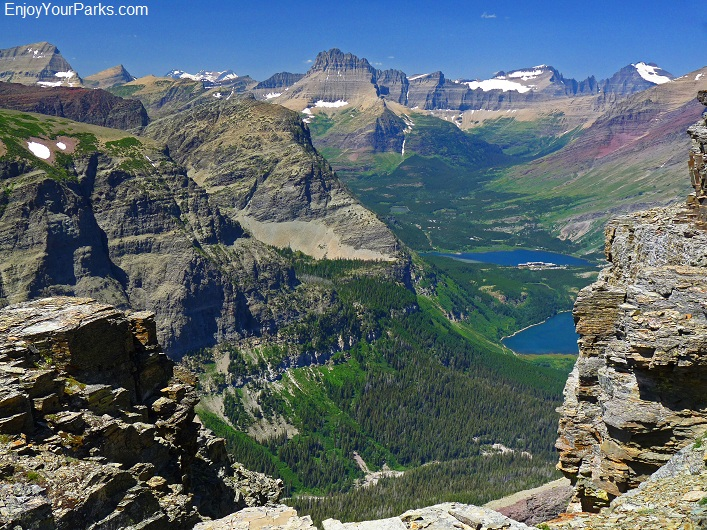 Mount Wynn summit view, Glacier National Park