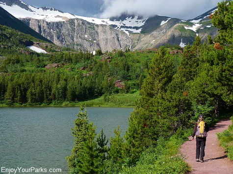 Red Rock Lake, Swiftcurrent Pass Trail, Glacier National Park