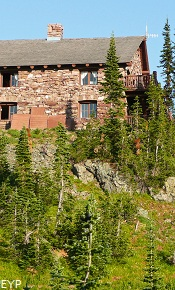Granite Park Chalet, Swiftcurrent Pass Trail, Glacier National Park