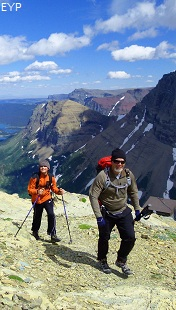 Swiftcurrent Mountain, Swiftcurrent Pass Trail, Glacier National Park