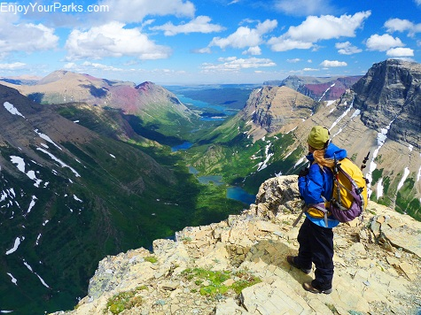 Swiftcurrent Mountain Summit, Highline Trail, Glacier National Park