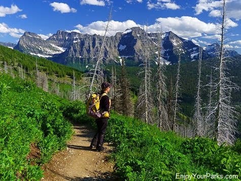 The Loop Trail, Highline Trail, Glacier National Park