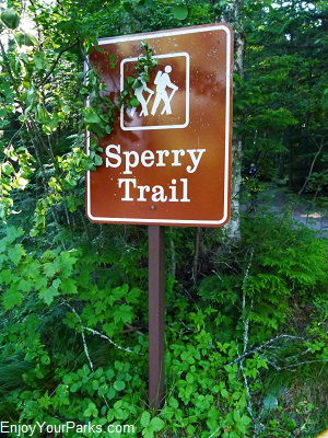 Sperry Trail, Snyder Lake, Glacier National Park