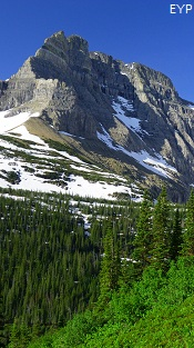 Mount Wilbur, Iceberg Lake Trail, Glacier National Park