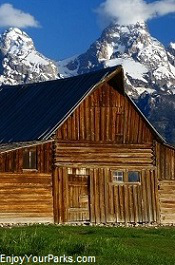 Historic Moulton Barn, Grand Teton National Park