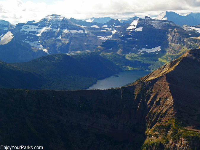 Mount Lineham summit view, Waterton Lakes National Park