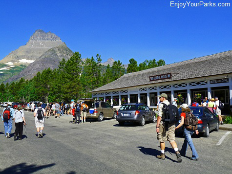 Swiftcurrent Motor Inn, Many Glacier Area, Glacier National Park