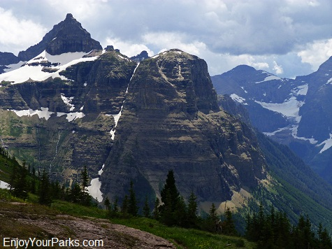 Thunderbird Mountain, Hole In The Wall, Glacier National Park