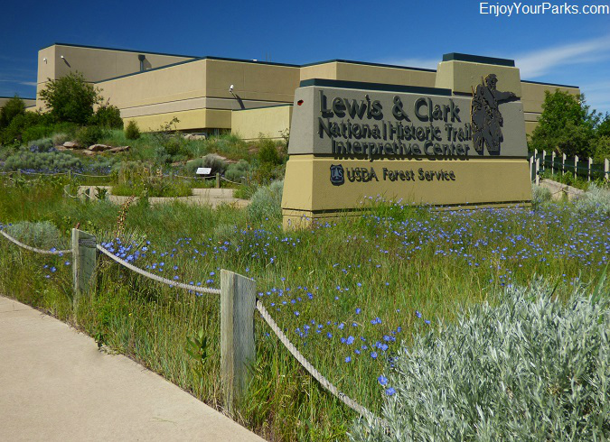 Lewis and Clark National Historic Trail Interpretive Center, Great Falls Montana