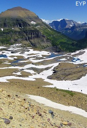 Mount Chapman, Boulder Pass Trail, Glacier National Park