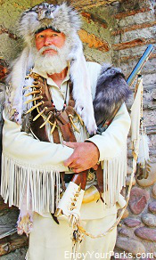 Fort Bridger Mountain Man Rendezvous, Wyoming