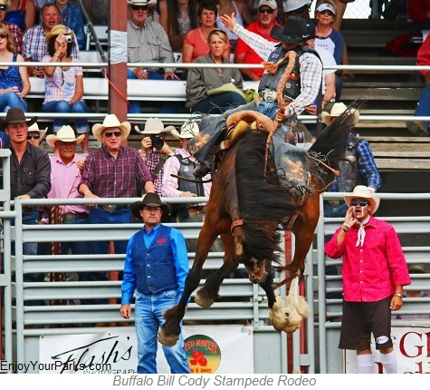 Cody Stampede Rodeo, Cody Wyoming