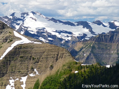 Pumpelly Glacier, Dawson Pass Trail - Pitamakan Pass Trail Loop, Glacier National Park