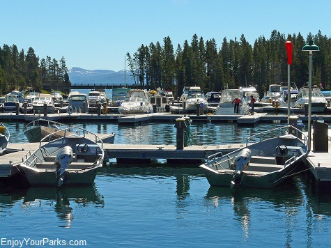 Bridge Bay Marina, Yellowstone National Park