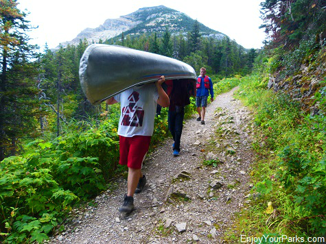 Crandell Lake Trail, Waterton Lakes National Park