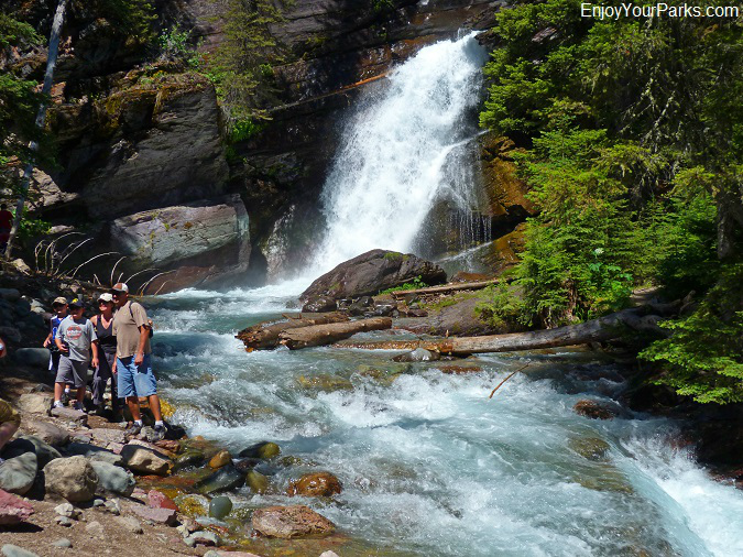 Baring Falls, Going To The Sun Road, Glacier National Park