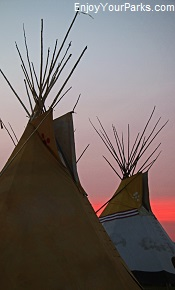 Native American Tepees, South Dakota