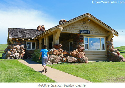 Wildlife Station Visitor Center, Custer State Park, South Dakota