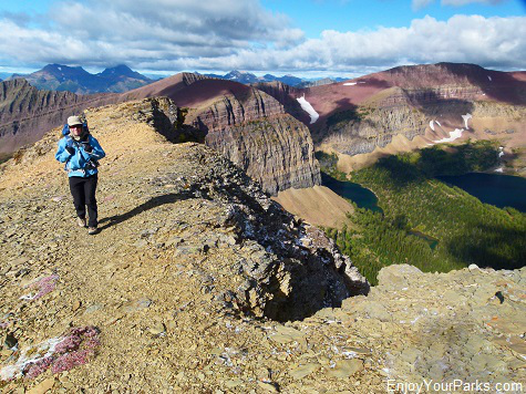 Mount Lineham Spur Trail, Waterton Lakes National Park