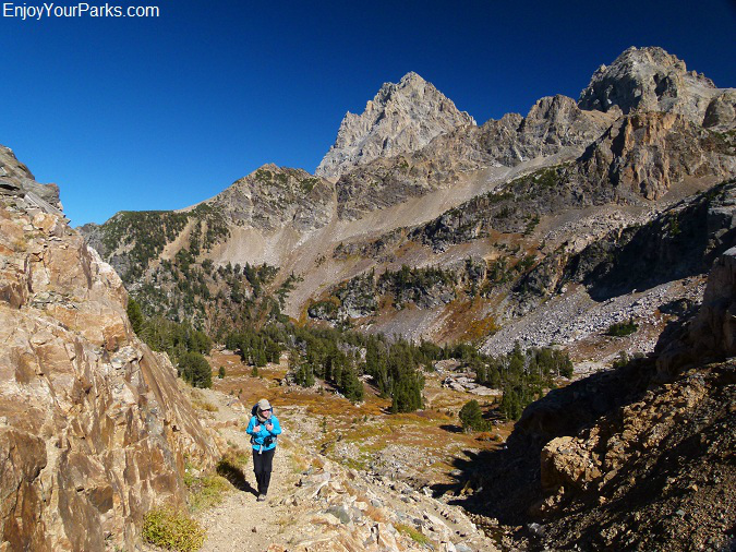 Trail to Hurricane Pass, Grand Teton National Park