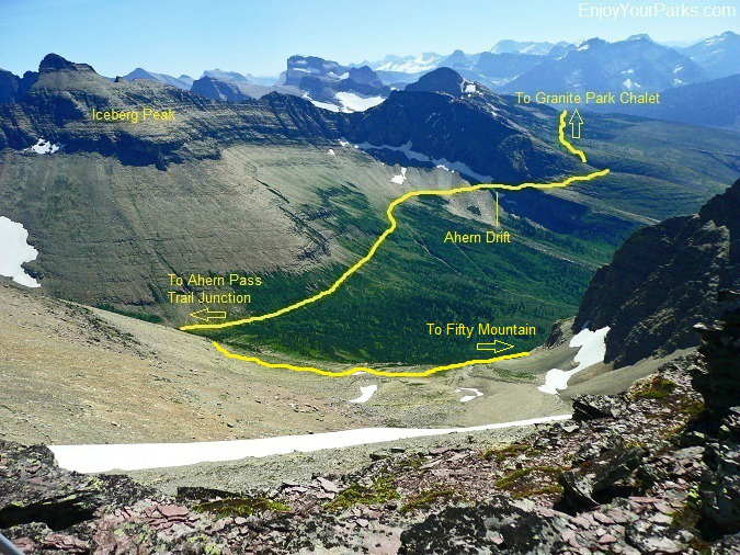 Northern Highline Trail, Glacier Park